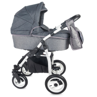 Travel System 3 in 1 Coccolle Gioia Grey