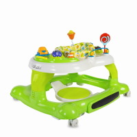 Coccolle Arlo baby walker with activities center Green
