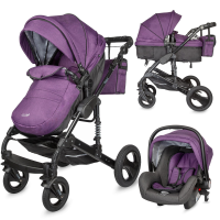 Travel system Coccolle Oppa 3 in 1 Purple