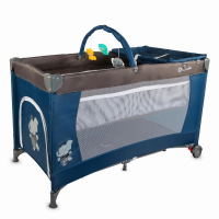 Baby Crib Coccolle Siesta Blue