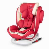 Car seat rotative Isofix 0-36 kg Hapi Ozy Red