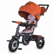 Coccolle Giro Plus multifunctional tricycle Brick Red