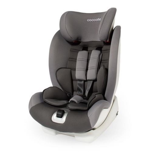 Coccolle Vela-Fix car seat with Isofix group 9-36 kg Grey