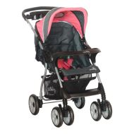 DHS Funky reversible handle stroller Pink