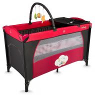DHS Twinkle baby crib Red