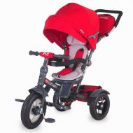 Coccolle Giro Plus multifunctional tricycle Red