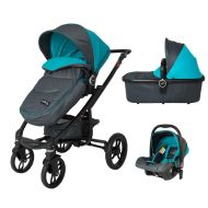 DHS Arrow 3 in 1 travel system Blue