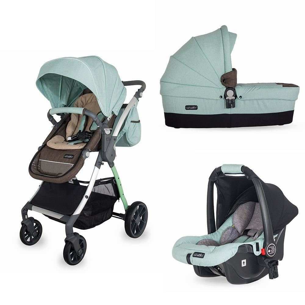 Coccolle Acero 3 In 1 Travel System Mint Green