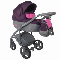 Coccolle Cassia 3 in 1 travel system Purple