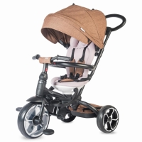 Coccolle MODI+ multifunctional tricycle Brown